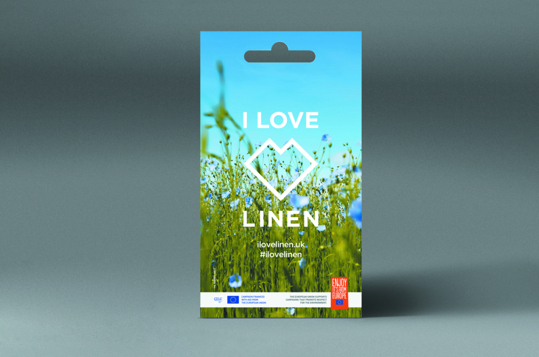 Time to plant your I LOVE LINEN seeds